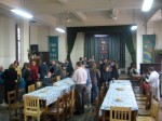 Fellowship after Friday worship