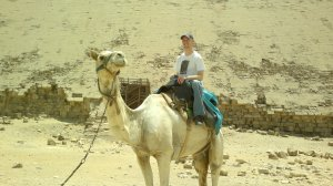 Paul Schick on Camel (Dashur) 2